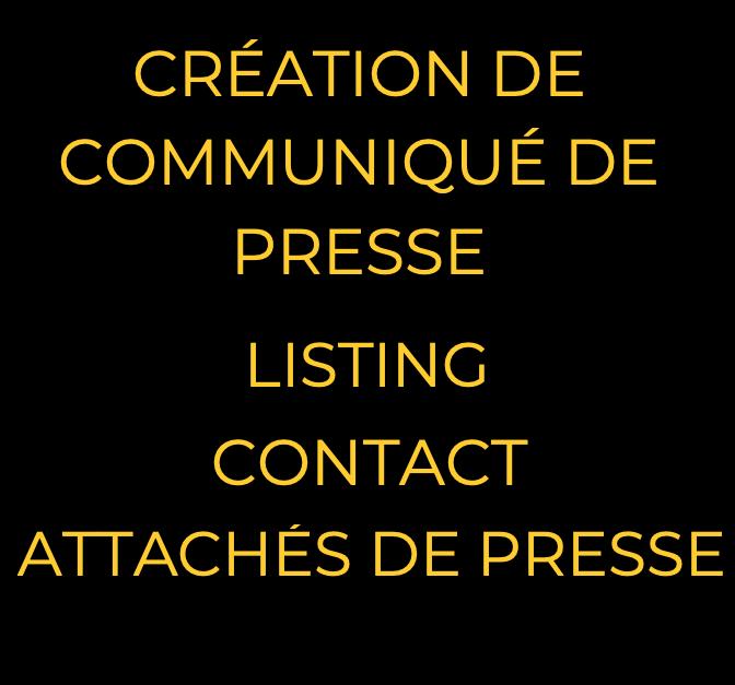 promotion presse